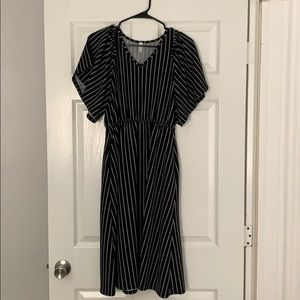Striped boutique dress WITH POCKETS!!!